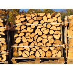 Drewno kominkowe ułożone na palecie możliwość wysyłki!!! TRANSPORT HDS DO 100 KM!!